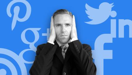 CEO ignoring social media